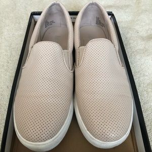 Mia perforated slip on sneakers
